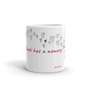 Touch has a memory Massage Mug