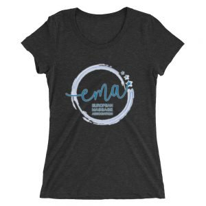 European Massage Association Ladies' short sleeve t-shirt