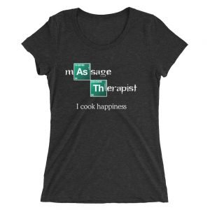 I Cook Happiness – Ladies' short sleeve t-shirt