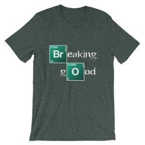 Breaking Good – Dark Colors Short-Sleeve Unisex T-Shirt