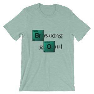Breaking Good – Light Colors Short-Sleeve Unisex T-Shirt