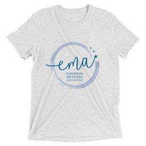 European Massage Association Short sleeve t-shirt