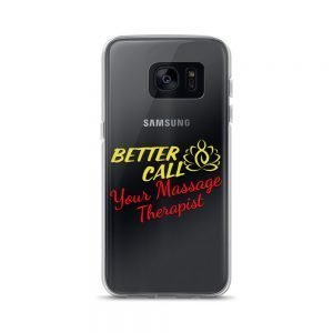 Better call your Massage Therapist Samsung Case