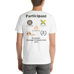 🏆 Official European Massage Championship Men's Tshirt