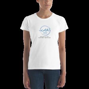 🏆 Official European Massage Championship Woman's Tshirt